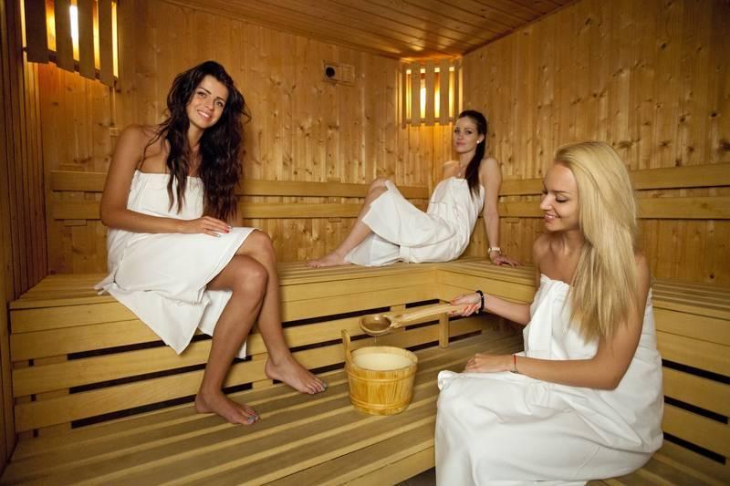 девушки и баня фото