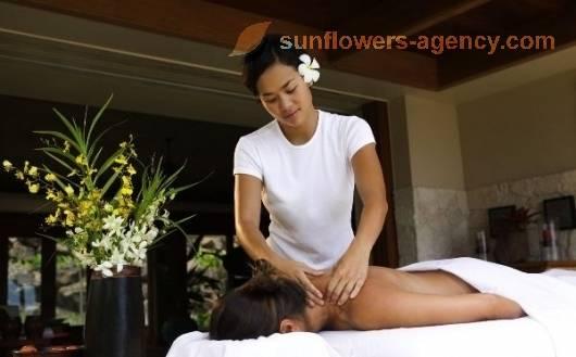 thai horor sunflowers massage